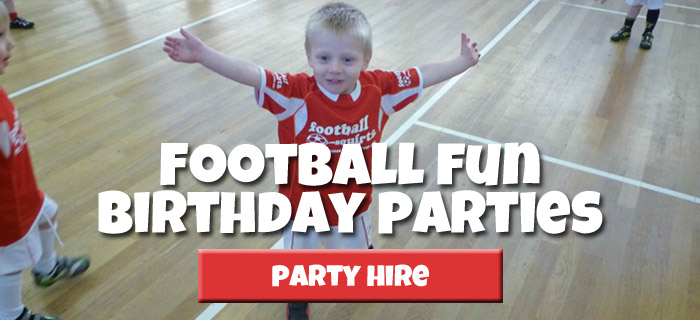 Football Birthday Party Hire